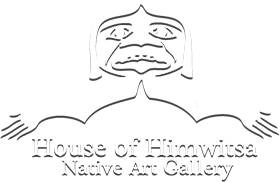House of Himwitsa Native Art Gallery, logo